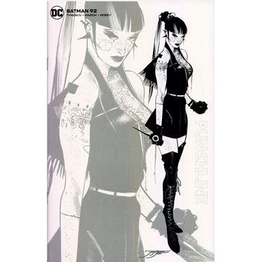תמונה של BATMAN #92 JORGE JIMENEZ BLACK AND WHITE 1 PER STORE VARIANT