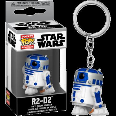 תמונה של מלחמת הכוכבים - STAR WARS R2-D2 KEYCHAIN POP