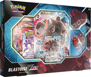 תמונה של פוקימון - POKEMON BLASTOISE VMAX BATTLE BOX