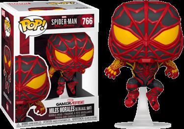 תמונה של ספיידרמן - SPIDER-MAN MILES MORALES S.T.R.I.K.E. SUIT POP