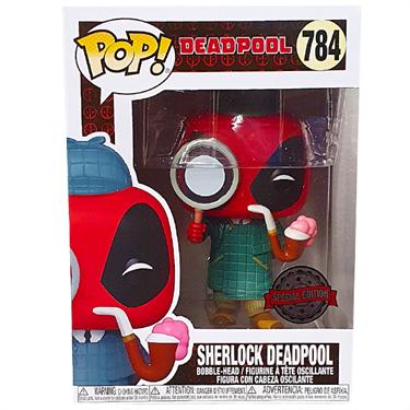 תמונה של דדפול - DEADPOOL SHERLOCK DEADPOOL EXCLUSIVE POP