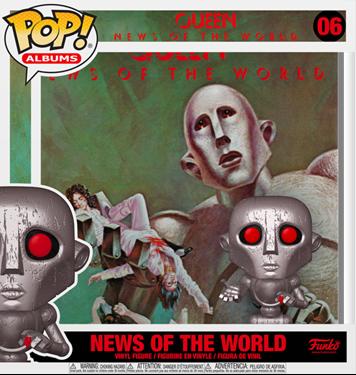 תמונה של קווין - QUEEN NEWS OF THE WORLD ALBUM POP