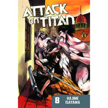 תמונה של ATTACK ON TITAN VOL 8