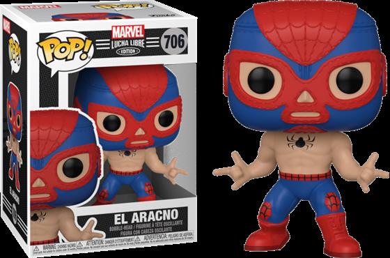 תמונה של MARVEL LUCHA LIBRE EL ARACNO SPIDER-MAN POP