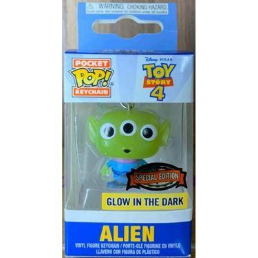 תמונה של צעצוע של סיפור 4 - TOY STORY 4 ALIEN GLOW IN THE DARK KEYCHAIN