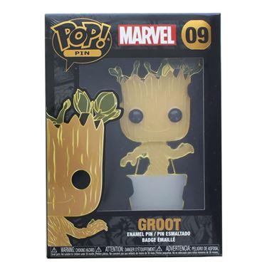 תמונה של סיכה גרוט - GROOT POP ENAMEL PIN
