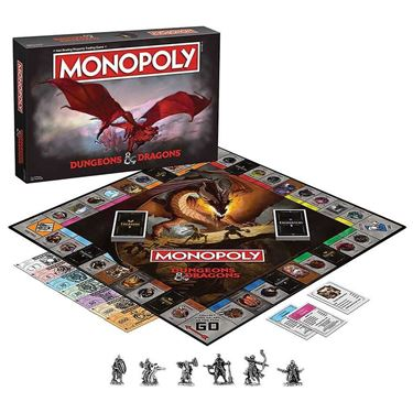 תמונה של מונופול מבוכים ודרקונים - DUNGEONS AND DRAGONS MONOPOLY