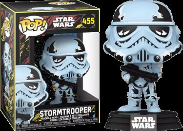 תמונה של מלחמת הכוכבים סטורם טרופר - STAR WARS STORMTROOPER RETRO POP