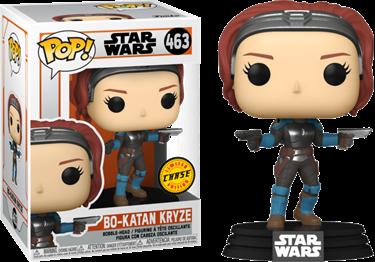 תמונה של מלחמת הכוכבים המנדלוריאן - STAR WARS THE MANDALORIAN BO-KATAN KRYZE CHASE POP