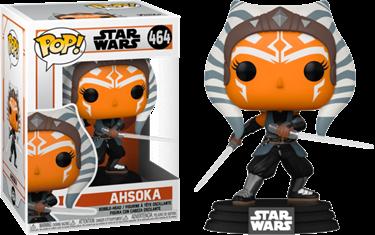 תמונה של מלחמת הכוכבים המנדלוריאן - STAR WARS THE MANDALORIAN AHSOKA WITH LIGHTSABERS POP