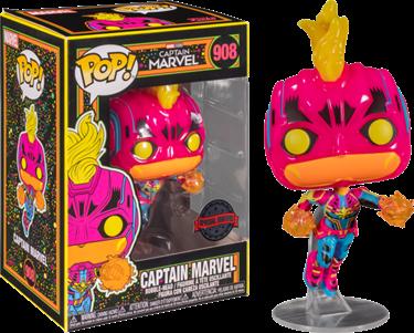 תמונה של קפטן מארוול - CAPTAIN MARVEL BLACKLIGHT EXCLUSIVE POP