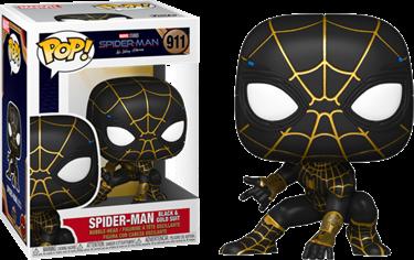 תמונה של ספיידרמן - SPIDER-MAN NO WAY HOME SPIDER-MAN BLACK AND GOLD SUIT POP